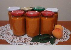 Sárgabarack lekvár Hot Sauce Bottles, Salt And Pepper, Ale, Mason Jars, Cooking Recipes, Stuffed Peppers, Foods, Drinks, Decor