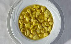 Tortellini in Brodo, a Bolognese classic at Ristorante Cesari in Bologna, Italy.