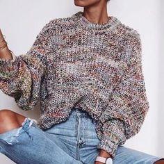 Baggy Jumper Oversized Sweater Knitwear