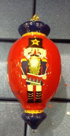 Glass nutcracker ornament Nutcracker Ornaments, Nutcracker Christmas, Glass Ornaments, Christmas Ornaments, Nutcrackers, Holiday Decor, Home Decor, Decoration Home, Room Decor