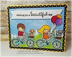 Image result for lawn fawn bicycle built for you