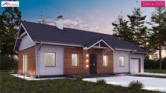 Z241 D GP to wyjątkowy dom z kategorii projekty domów jednorodzinnych Garage Doors, Outdoor Structures, Outdoor Decor, Home Decor, Decoration Home, Room Decor, Home Interior Design, Carriage Doors, Home Decoration