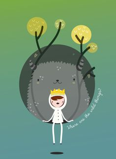 Where are the wild things? by MJ Da Luz, via Behance