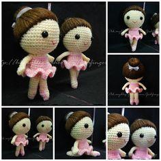 Cute Crochet Ballerina