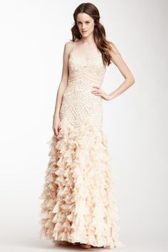 HauteLook | Starting At $100: Sue Wong Embellished Cascading Ruffle Ball Gown