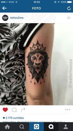 Tatuagem leão