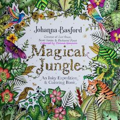 Take a peek at this great artwork on Johanna Basford's Colouring Gallery! Coloring Tips, Adult Coloring, Coloring Books, Coloring Pages, Magical Jungle Johanna Basford, Forest Color, Johanna Basford Coloring Book, Coloring Tutorial, Color Inspiration