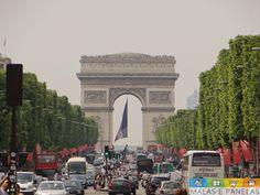 Arco do Triunfo Arco do Triunfo Para a nossa surpresa, foi o queridinho da pequena!