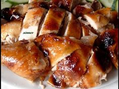We love plum sauce. We use a lot of it for dipping or for marinating. This plum sauce roast chicken is another favourite easy and simple dis. Easy Bbq Chicken, Roast Chicken Recipes, Roasted Chicken, How To Cook Chicken, Fried Chicken, Dutch Recipes, Asian Recipes, Cooking Recipes, Plum Sauce