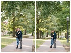A Cozy Fall Inspired Engagement Session UNC Chapel Hill | North Carolina Wedding Photographer | Michelle Robinson Photography