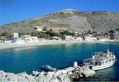 Pserimos is a small Greek island in the Dodecanese chain, lying between Kalymnos and Kos. Superyacht Charter, Places To Travel, Places To Visit, Santorini Villas, Myconos, Greek Island Hopping, Places In Greece, Greece Islands, Medieval Castle