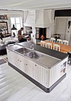 L U N D A G Å R D | inredning, familjeliv, byggnadsvård, lantliv, vintage, färg & form: Kök
