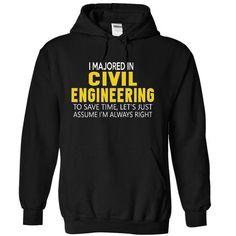 Civil Engineering T Shirts, Hoodies. Check price ==► https://www.sunfrog.com/Funny/Civil-Engineering-3847-Black-aqag-Hoodie.html?41382 $38.99