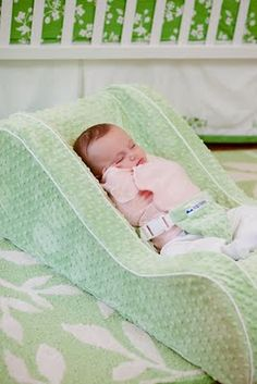Another pinner said: Nap nanny! Buy it! Best baby investment! Grayson has a cold right now and this is the only way he can sleep, thanks to the incline! I'm in love! So excited to have this for #2!!!!