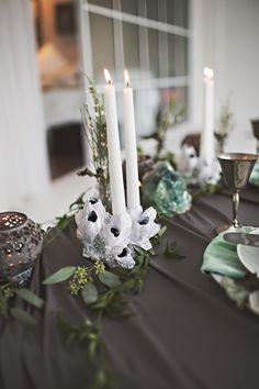 Winter Seaside Wedding Inspiration   Floral Design by AMBER REVERIE   See More: http://blog.amberreverie.com/2015/01/featured-on-100-layer-cake-winter-siren.html