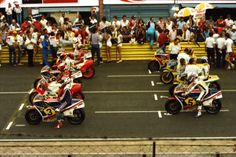 Starting grid 1983