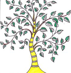 Madhubani tree