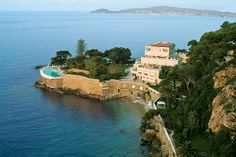 Secluded Cap Estel between Nice and Monaco, Cote d'Azur France