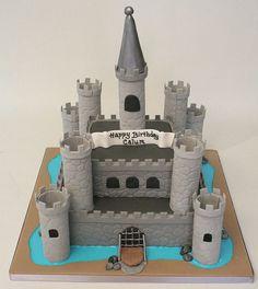 Castle Birthday Cake by allaboutcake, via Flickr