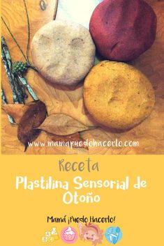 Plastilina Sensorial de Otoño - Autum play dough Crafts For Kids, Material, Food, Play, Easy Crafts, Diy Crafts, Homemade Playdough, Fun Recipes, Sons