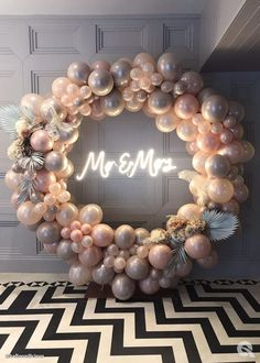 These brilliant designs using the newest Qualatex balloons will leave you amazed! Girls Party Decorations, Birthday Balloon Decorations, Bridal Shower Decorations, Birthday Balloons, Wedding Decorations, Bridal Shower Balloons, Wedding Balloons, Balloon Backdrop, Balloon Garland