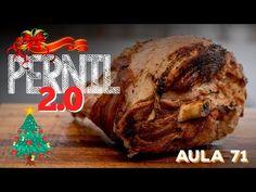 Aula 71 - Pernil 2.0 (Como fazer pernil suíno PERFEITO) / Cansei de Ser Chef - YouTube Pernil, Meat, Chicken, Youtube, Food, Gastronomia, Kale Stir Fry, Ham, Pisces