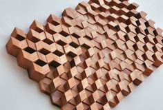 --- 5 of my favorite artists on Ello (Part --- . 3d Pattern, List Of Artists, Acoustic Panels, Environmental Design, Architectural Elements, 3d Wall, Panel Doors, Textures Patterns, Creative Inspiration