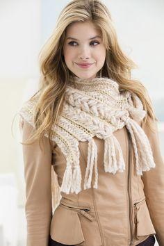 Crochet And Braids Neck Warmer                                                                                                                                                                                 More