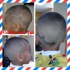 Kid fade with faded design