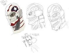 No More Heroes - Destroyman Character Art