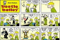 Laugh-O-Gram - Hello Subscription Cartoon Jokes, Funny Cartoons, Cartoon Art, Beetle Bailey Comic, Mort Walker, Calvin And Hobbes, Cute Characters, Comic Strips, The Funny
