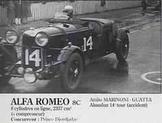 LE MANS 1932 -  ALFA ROMEO 8c 2300 LM  #14