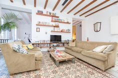 Check out this awesome listing on Airbnb: Stunning Apt with Two Roof Terraces in Barcelona