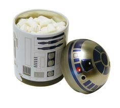 I'd actually have this on my desk or in my purse, cute!! R2-D2 Mint Tin