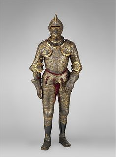 Part of the decoration design by Jean Cousin the Elder | Armor of Henry II, King of France (reigned 1547–59) | French, possibly Paris | The Met