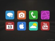iOS7 Application Icons