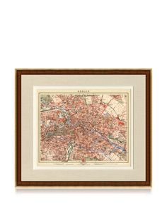 65% OFF Antique Berlin 1890\'s Map