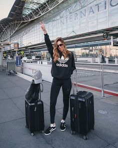Summer Travel Outfit Airport - #airport #outfit #summer #SummerTravelOutfitAirport #travel