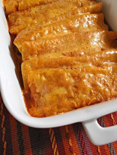 Jam Hands: Beef and Cheese Enchiladas (or just cheese)