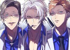 """三月▽原稿 on Twitter: """"俺らヨコハマクゥ⤴ルな殺し屋 (※髪型アレンジ)… """" Dark Anime Guys, Cute Anime Guys, Anime Boys, Manga Anime, Anime Demon, First Animation, Animation Film, Badass Anime, Dark Drawings"""