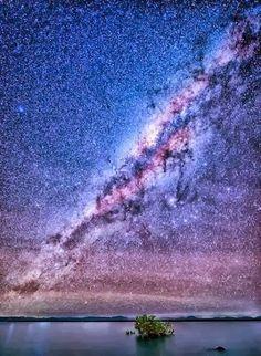Earth. Milky Way.