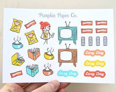 Hey, I found this really awesome Etsy listing at https://www.etsy.com/au/listing/265004162/reading-planner-stickers-lazy-day