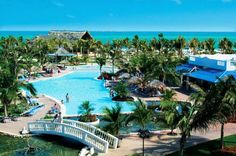 Melia Cayo Coco Cuba - huge resort secluded part of Cuba but is a nice get away the water is just so amazing and the scenery - just jaw dropping