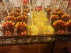 Thanksgiving cakepops