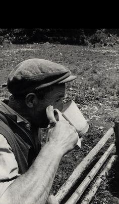 Žinčica je osvižujúci napoj - fotoarchív:Božena Bečáková r.Račková - 1972