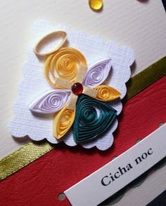 quilling christmas angel