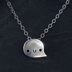 Doodllery Necklace - Silver Goon | Little Moose | Cute bags, gifts, toys, jewellery and accessories from independent designers and famous br...