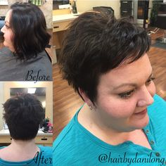 Pixie cut makeover