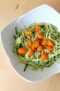 Buffet delicious zucchini pasta! #Kitopia #zucchinipasta #foodie #pastalover