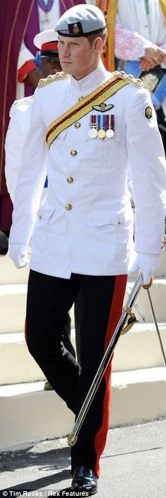 Prince Harry in uniform. What more is there to say!: